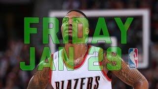 getlinkyoutube.com-NBA Daily Show: Jan. 29 - The Starters