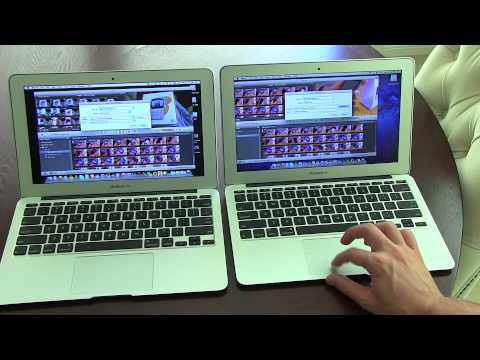 MacBook Air Smackdown: 2011 vs. 2010