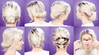 Hairstyles For Short Hair Milabu : ... .com-EASY HAIR TOOLS FOR SHORT HAIRSTYLES TUTORIAL Milabu