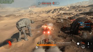 Star Wars Battlefront Battle of Jakku First Impression as Rebel