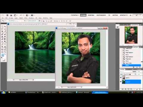 Tutorial Cara Ganti Background Photoshop CS4 2014 Cara Ganti Background Tutorial Adobe Photoshop CS4