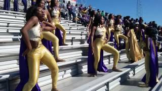"getlinkyoutube.com-Alcorn State-SOD """"entrance """"@ Mississippi Valley State  2016"