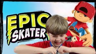 getlinkyoutube.com-Playing Epic Skater (iPad Gameplay Video) (KID GAMING)