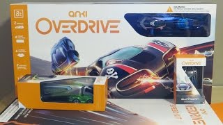 Unboxing Anki OVERDRIVE! (Battle and race Robotic Supercars of the Future)