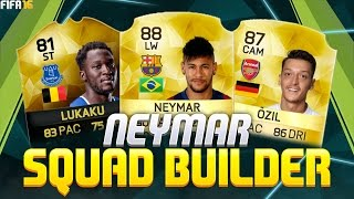 getlinkyoutube.com-THE BEST NEYMAR SQUAD BUILDER 400K LIGA BBVA / BPL HYBRID - FIFA 16 Ultimate Team