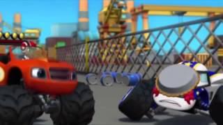 getlinkyoutube.com-Blaze and the Monster Machines Season 1 Episode 9 Cake tastrophe HD