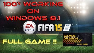 getlinkyoutube.com-How to download and install FIFA 15 on windows 8.1 | 100% Working
