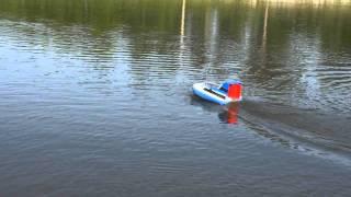 getlinkyoutube.com-RC Hovercraft Part 5 Water Testing