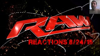 getlinkyoutube.com-WWE Raw Reactions 8/24/15 + Universe Mode 2K15 Matches