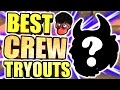 ULTIMATE SUPER CREW TRYOUTS OMG • HANKDATANK25 FINALLY MADE A CREW + HOW TO PLAY w ME AND TRYOUT