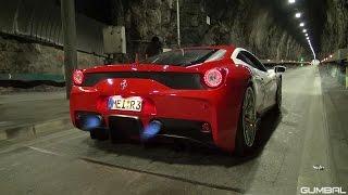 getlinkyoutube.com-LOUDEST Ferrari 458 Speciale EVER!