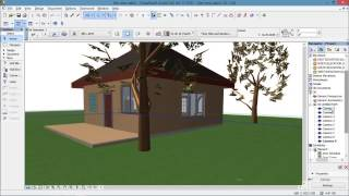 getlinkyoutube.com-How to render using ArchiCAD 17 for beginners