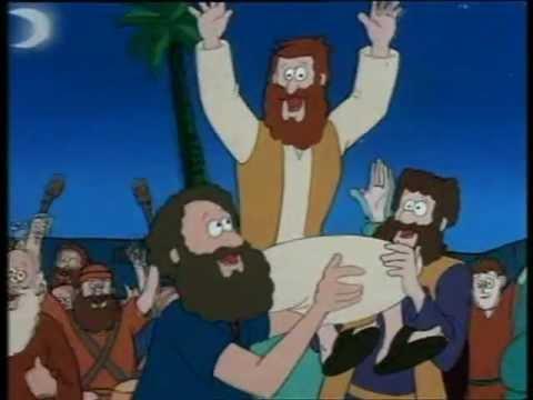 ΙΗΣΟΥΣ ΧΡΙΣΤΟΣ, Η παραβολή του ασότου υιού, Παιδικό, κινούμενα σχέδια.