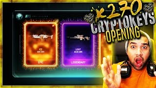 "getlinkyoutube.com-2 ""EPIC CAMOS!"" - 270+ CRYPTOKEYS - BLACK OPS 3 Supply Drops - BO3 Rare Supply Drops (EPIC Gun CAMO)"