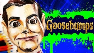 getlinkyoutube.com-GOOSEBUMPS Learn How To Draw SLAPPY THE DUMMY. SPEED DRAWING