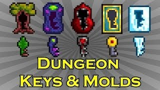 Terraria - Dungeon Keys and Molds - Easily Obtained!