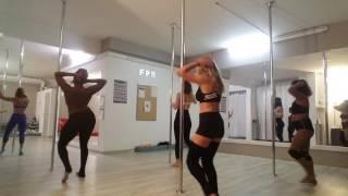 Pole choreography - Merry Christmas