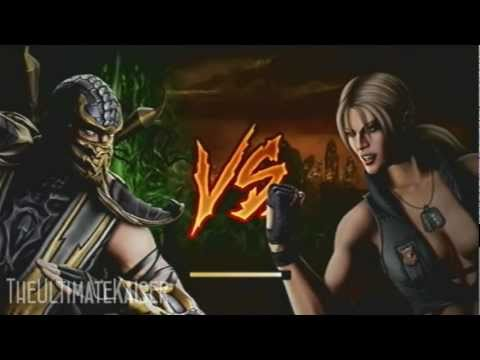 Mortal Kombat: Scorpion vs Sonya Blades