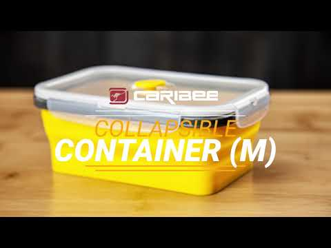 Caribee 750mL Collapsible Container - Yellow