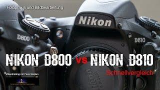 getlinkyoutube.com-Schnellvergleich: Nikon D800 vs. Nikon D810