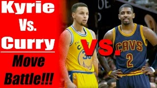 getlinkyoutube.com-Kyrie Irving Vs. Stephen Curry Move Battle! Top 4 Basketball Moves & Crossovers: How To Break Ankles