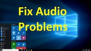 getlinkyoutube.com-how to fix audio problems on windows 10!!