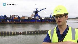 getlinkyoutube.com-Building a port terminal on an artificial island