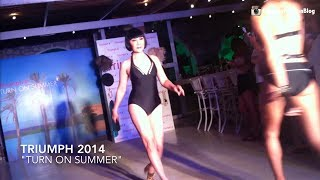 getlinkyoutube.com-ม้า อรนภา อวดหุ่นสวย ชุดว่ายน้ำ Triumph 2014 - Turn On Summer (VDO BY POPPORY FASHION BLOG)