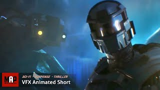 "getlinkyoutube.com-Sci-Fi CGI 3D Animated Short ""AZARKANT"". Incredible Halo Styled VFX Animation By Andrey Klimov"