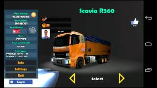 getlinkyoutube.com-Grand Truck Simulator Android Mod Indonesia part 1