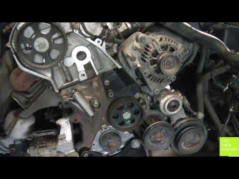 VW Passat b5. Замена переднего сальника коленчатого вала.