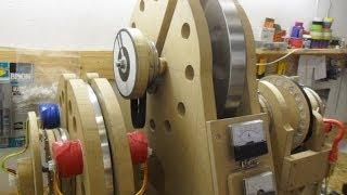 getlinkyoutube.com-Pulse Motor_Generator - Update 20 OverUnity is it or not, Future World Generator_7...