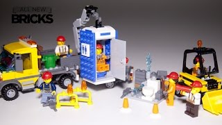 getlinkyoutube.com-Lego City 60073 Service Truck paired with 60072 Demolition Starter Set Speed Build Review