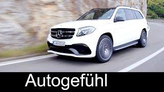 getlinkyoutube.com-New Mercedes-AMG GLS 63 4MATIC Preview Exterior Interior & SOUND - Autogefühl
