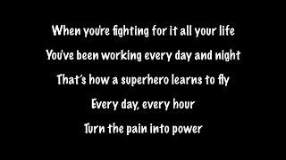 The Script   Superheroes (Lyrics+Official Audio)