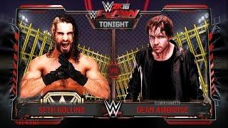 "getlinkyoutube.com-WWE 2K16 ""The Punjabi Prison"" Match Gameplay Notion PS4/XB1"