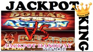 getlinkyoutube.com-Dollaroo vs. Dollar Action Slot Bonuses JACKPOT HANDPAY!!