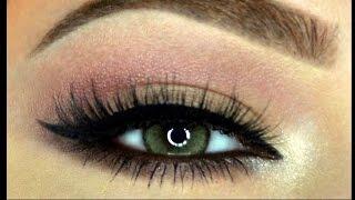 getlinkyoutube.com-EASY Pink bottom Smokey Makeup Tutorial....مكياج وردي سموكي سهل