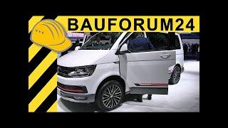 getlinkyoutube.com-Volkswagen Transporter VW T6 Panamericana & Caravelle Walkaround - IAA 2015 - Bauforum24 TV