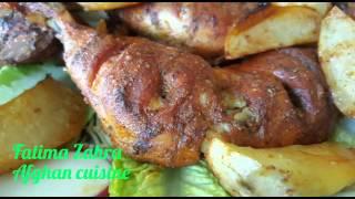 getlinkyoutube.com-Chicken tandoori  طرز تهیه کباب داشی
