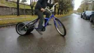 getlinkyoutube.com-Drift tricke Дрифт на велосипеде
