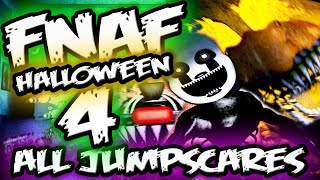 getlinkyoutube.com-FNAF 4 Halloween Edition ALL JUMPSCARES Gameplay || Five Nights at Freddy's 4 Jumpscares