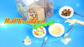 getlinkyoutube.com-DIY - How to Make:  Doll Breakfast: Cereal - Handmade - Doll - Crafts