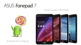 getlinkyoutube.com-Preview ASUS Fonepad 7 Lollipop FE170CG