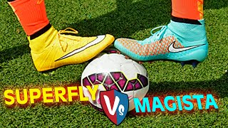 getlinkyoutube.com-Ultimate Nike Superfly CR7 vs. Magista Obra - Test & Review