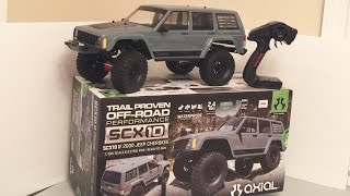 getlinkyoutube.com-***Axial SCX10 II Jeep Cherokee Sport RTR AX90047 Unboxed***Tybo's RC Motorsports** Pure RC 4x4.