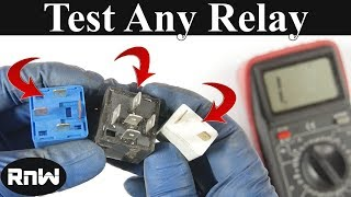 getlinkyoutube.com-How to Test a 3, 4 or 5 Pin Relay - With or Without a Diagram