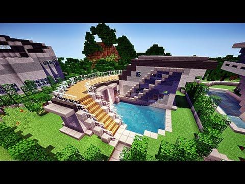 Minecraft HD - Maison moderne n°1 ! 1/2