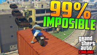 getlinkyoutube.com-99% IMPOSIBLE! COCHES VOLADORES!! - Gameplay GTA 5 Online Funny Moments (Carrera GTA V PS4)