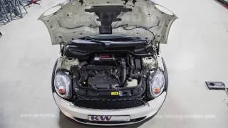getlinkyoutube.com-Time Lapse of AEM Cold Air Intake Install for Dad's 2012 Mini Cooper S R56